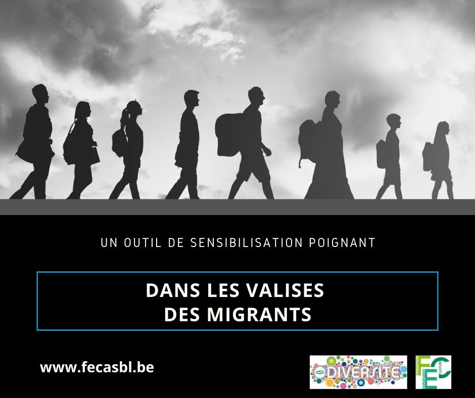 Valises migrants facebook